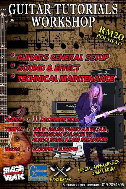 Event GUITAR - Behind the Scene | 11 November 2016