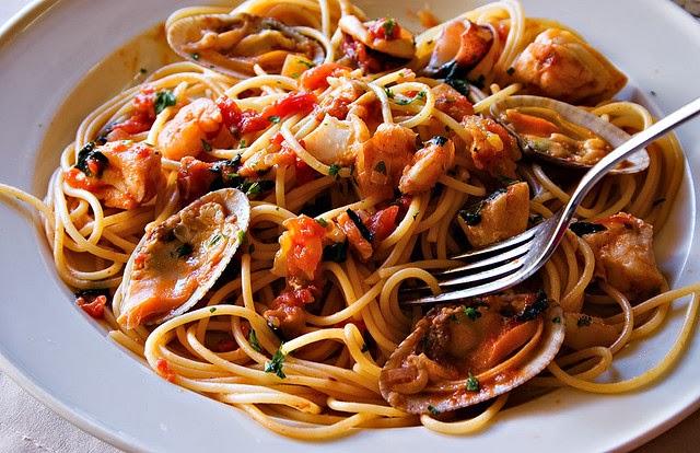 Recetas de cocina saludables y fáciles: Pasta a la marinera