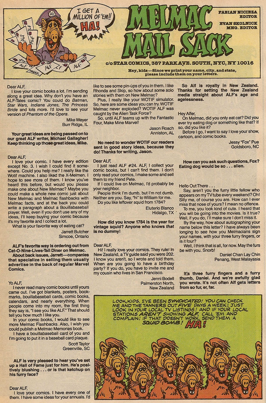 Read online ALF comic -  Issue #37 - 33