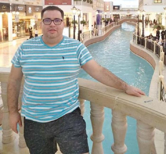 Răzvan Popescu avea 129 kg, la începutul anului