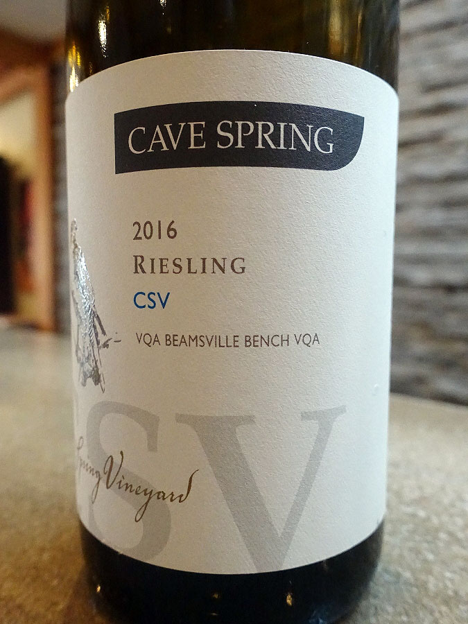 Cave Spring CSV Riesling 2016 (92 pts)