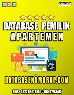 Jual Database Pemilik Apartemen Mewah