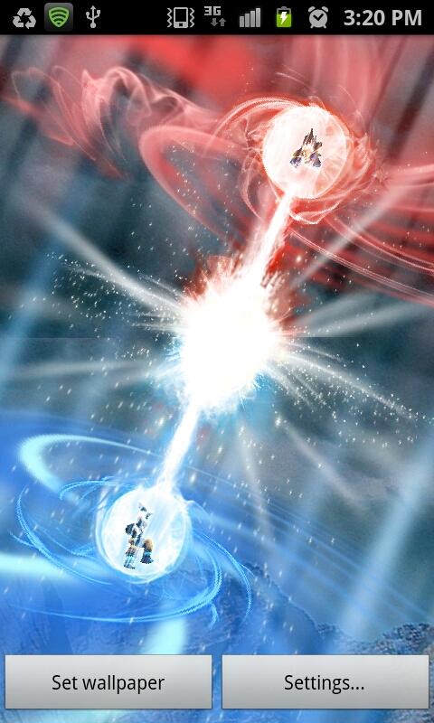Makodroid dragon ball kamehameha lwp - Goku kamehameha live wallpaper ...