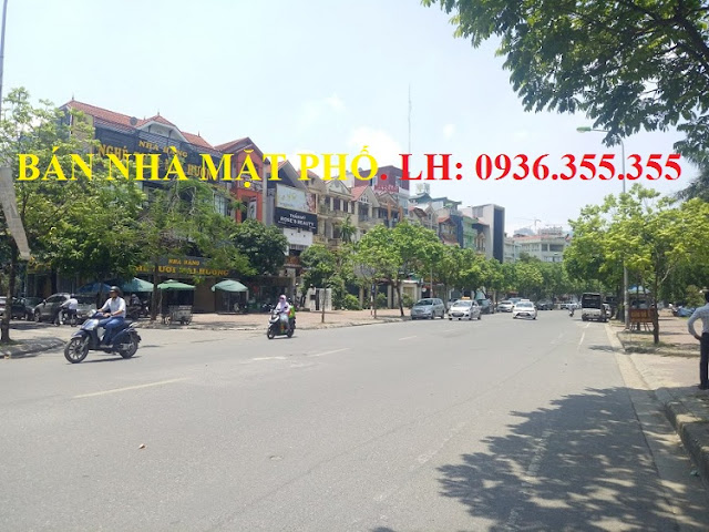 Bán nhà mặt phố Vũ Phạm Hàm, Trung Hòa