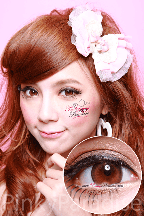 G&G Max Pure Brown Circle Lenses (Colored Contacts)