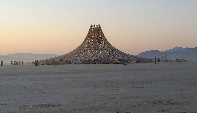 Temple Burning Man
