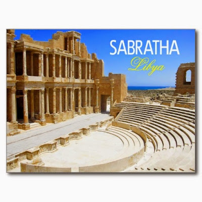 A Postcard from Sabratha Beach