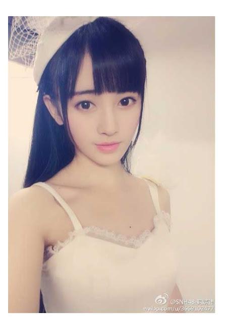 Paras Cantik Ju JingYi idol SNH48 Super Kawaii
