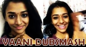 Vaani Cute Dub Smash Video
