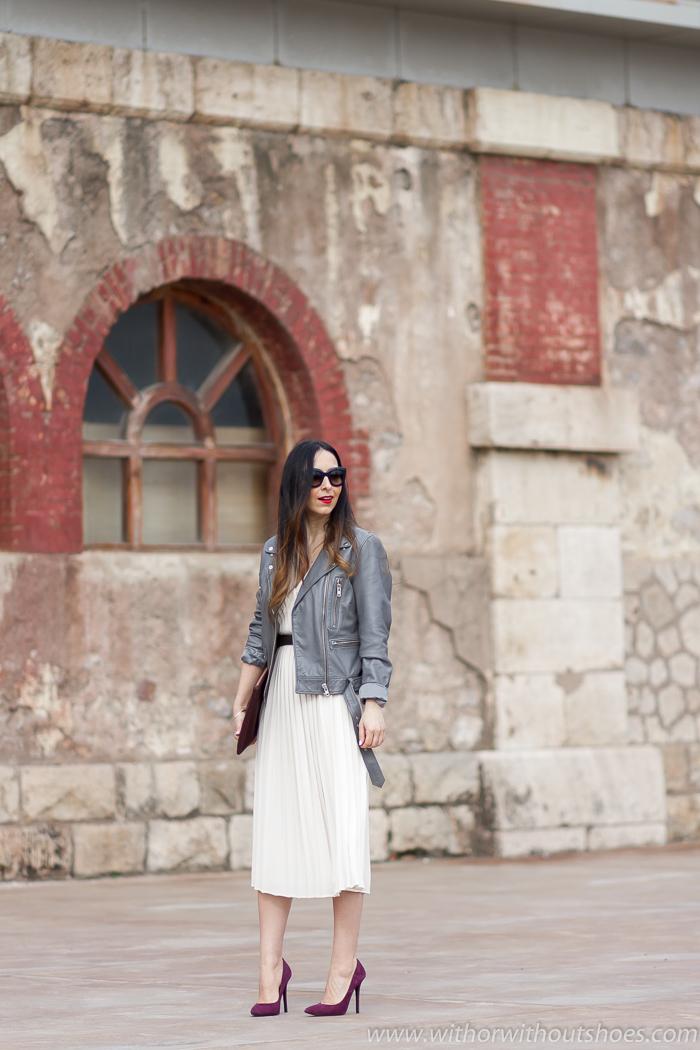 Influencer blogger Valenciana con ideas para vestir en celebraciones
