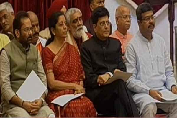 modi-sarkar-ferbadal-4-state-minister-promoted-cabinet-minister