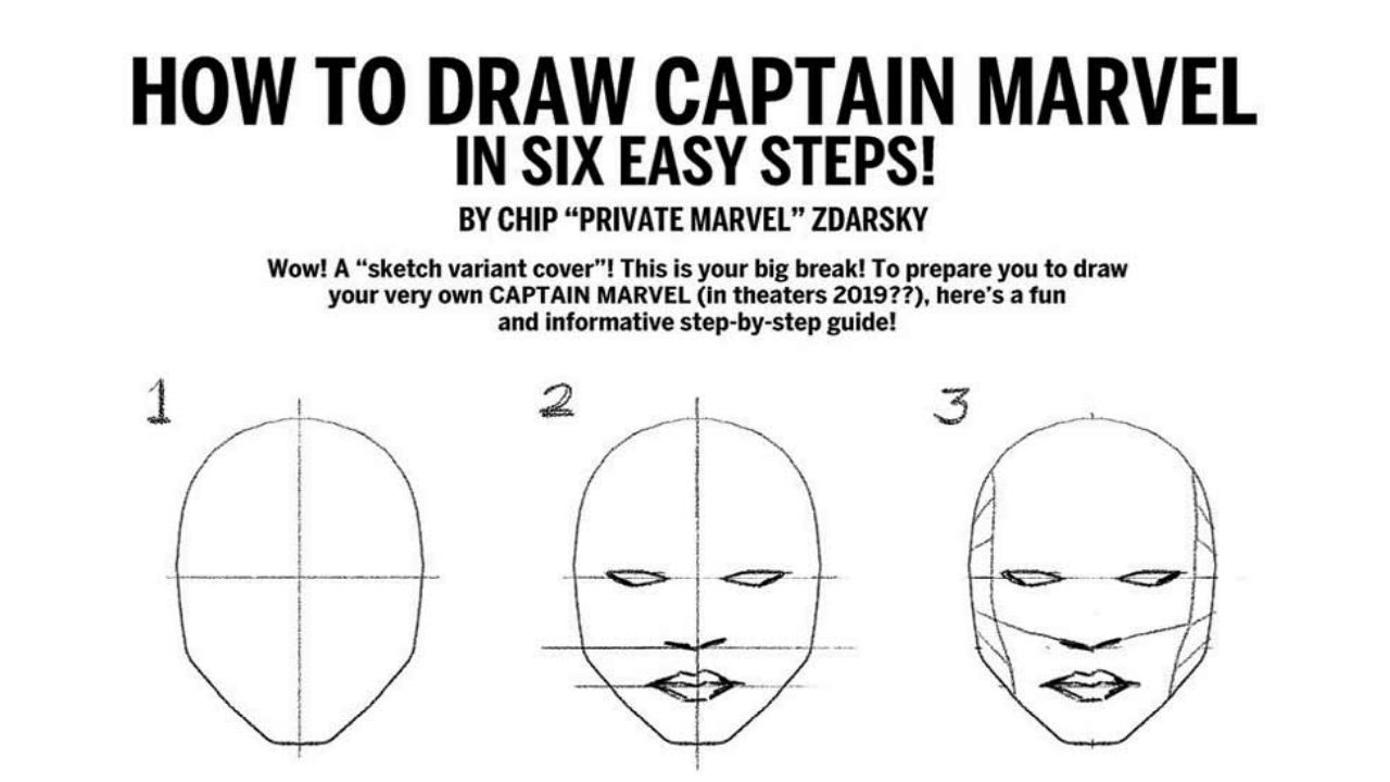 Comic frontline marvel announces how to draw variant by for How to make doodle