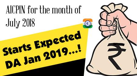 Expected DA Jan 2019