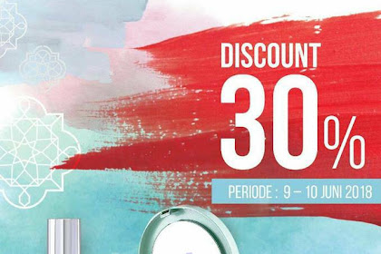 Promo Matahari Department Store Koleksi Wardah Diskon 30% 9 - 10 Juni 2018