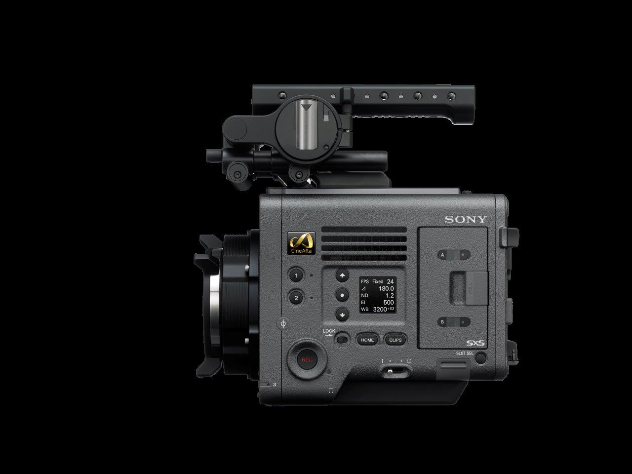 Цифровая кинокамера Sony CineAlta Venice, вид сбоку