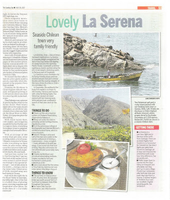 Lovely La Serena, Chile. Photographs by Janie Robinson, Travel Writer