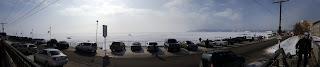 Вид на Байкал со стороны Листвянки