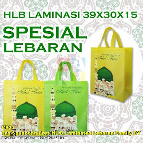 Tas Spunbond Pres HL-B Laminated Lebaran Family DY