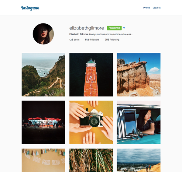 Instagram for web - New design
