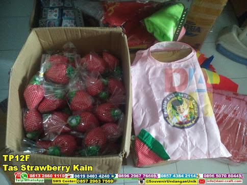 jual Tas Strawberry Kain