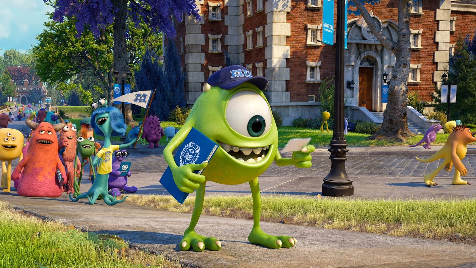 "Kyle's Animated World: Regrading ""Monsters University"""