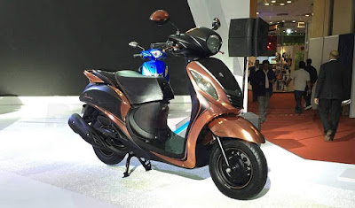 All New Yamaha Fascino new colour hd Photos