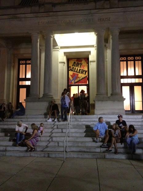 Downtown Pensacola Gallery Night