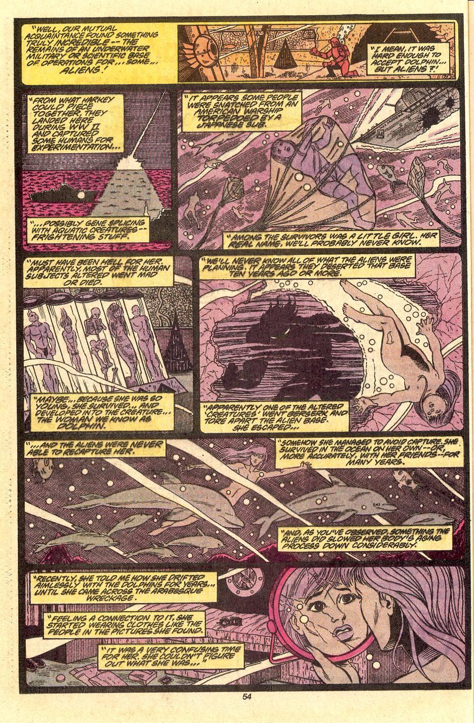 Read online Secret Origins (1986) comic -  Issue #50 - 57