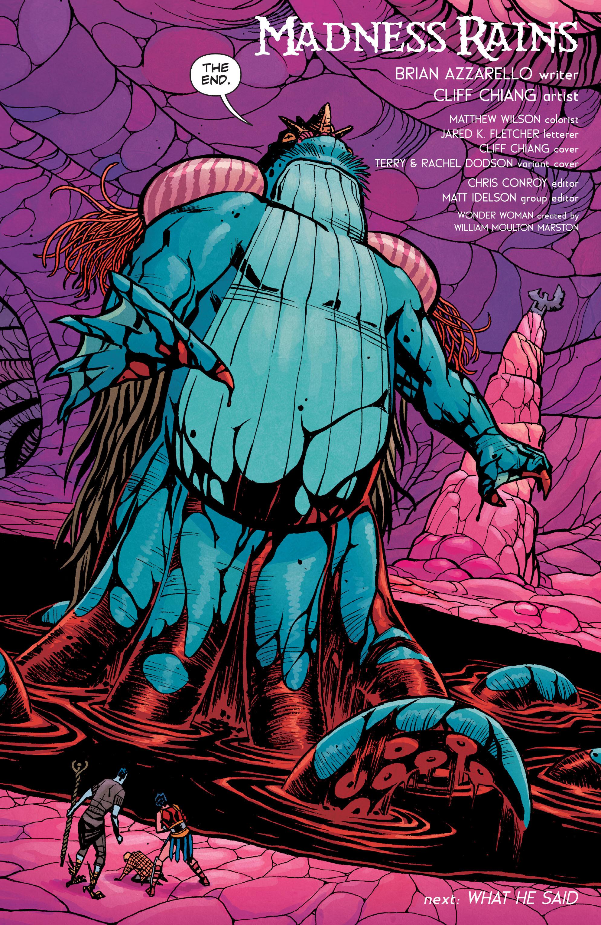 Read online Wonder Woman (2011) comic -  Issue #34 - 21