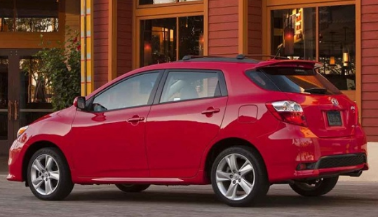 2017 Toyota Matrix Redesign