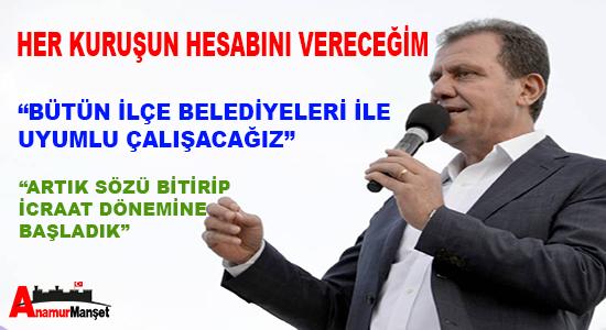 Anamur Haber, Mersin Haber, Vahap Seçer, Mersin Büyük Şehir Belediyesi,