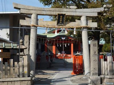 鶴見神社正門