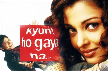 Poster Of Bollywood Movie Kyun Ho Gaya Na (2004) 300MB Compressed Small Size Pc Movie Free Download worldfree4u.com