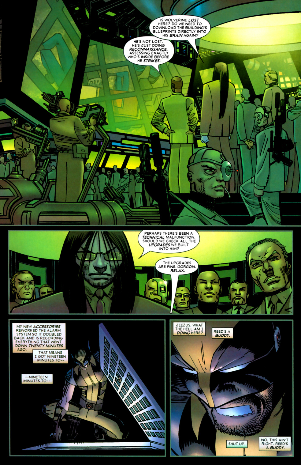 Read online Wolverine (2003) comic -  Issue #22 - 4
