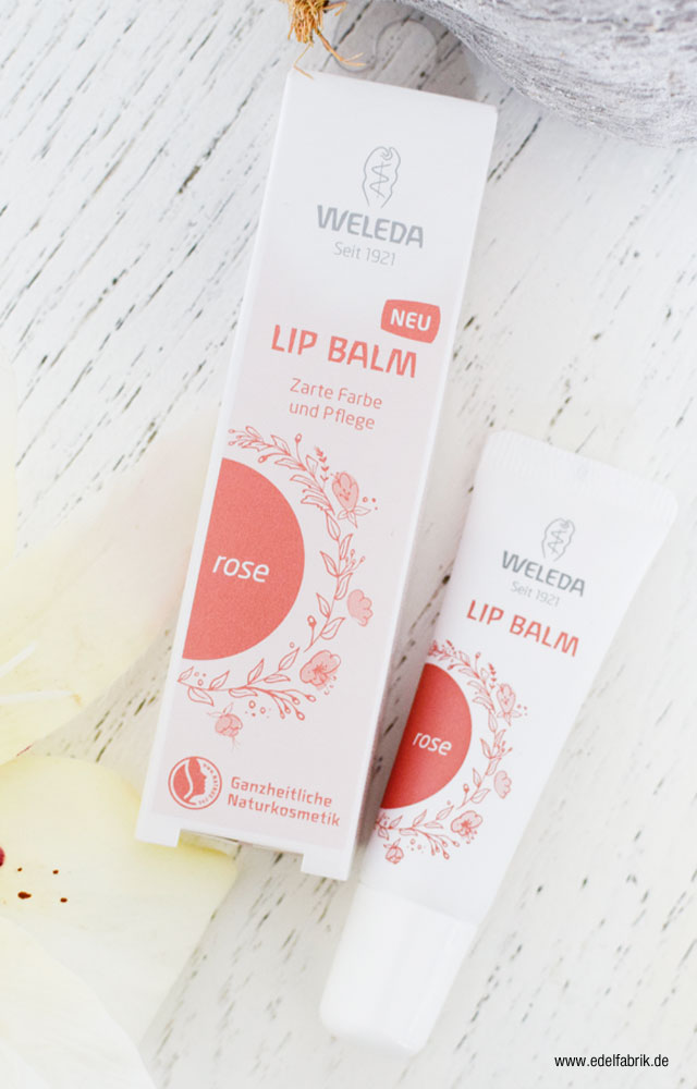 Lip Balm Rose von Weleda Review