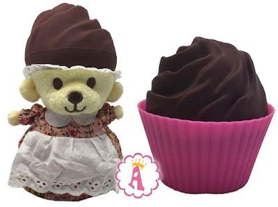 Обзор игрушек мягкий мишка в ароматном капкейке с запахом тирамису