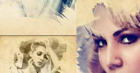 Vibrant Watercolor Effect - Photoshop Action ~ Graphic Van