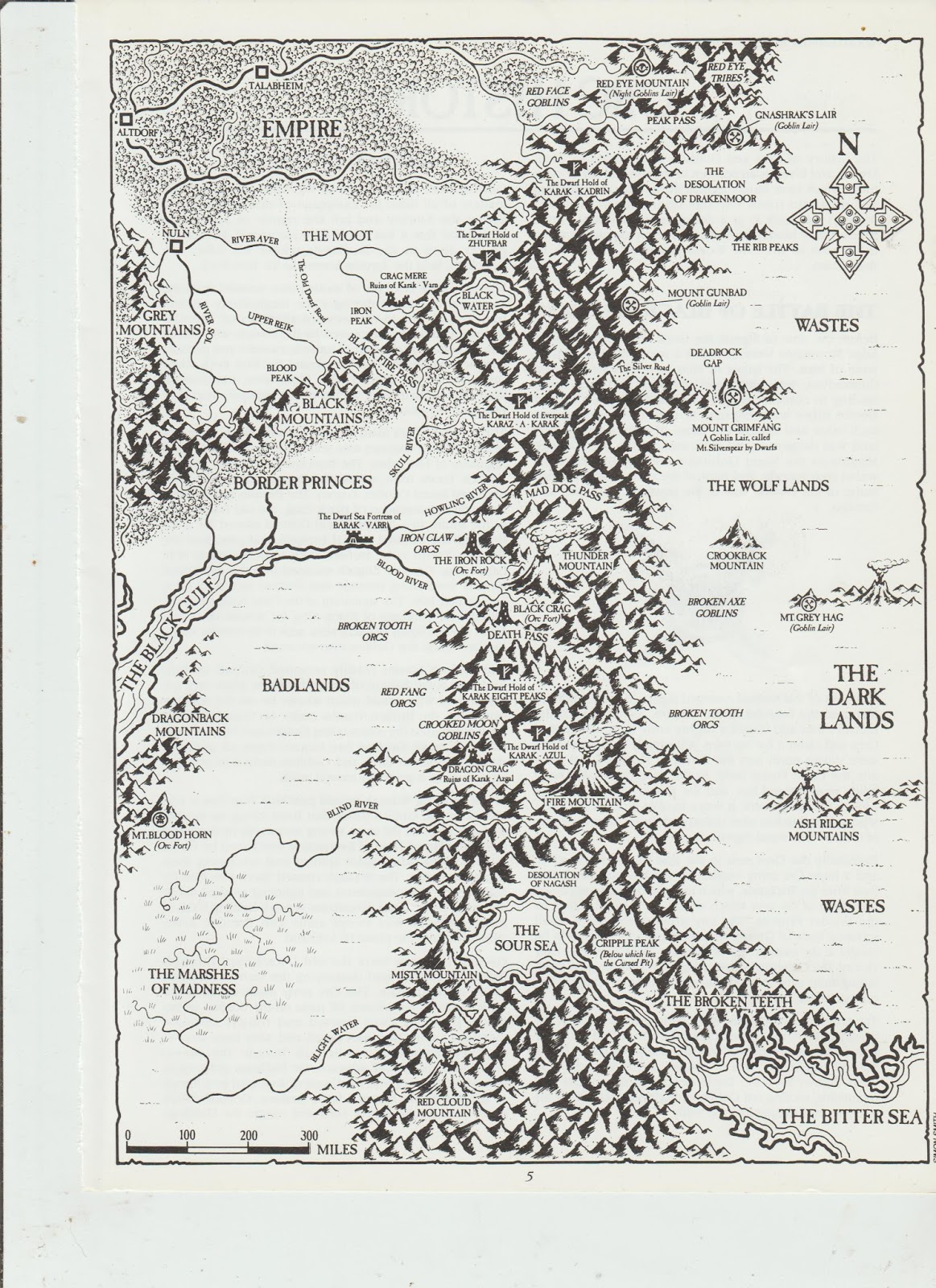 Hall of the Mountain King: GW Warhammer Fantasy Map
