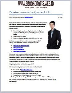 Ebook Passive Income dari Jualan Link
