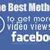 Buy Facebook Video Views For $1 [Guaranteed]
