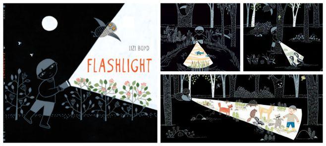 libro infantil superar miedo oscuridad: flashlight