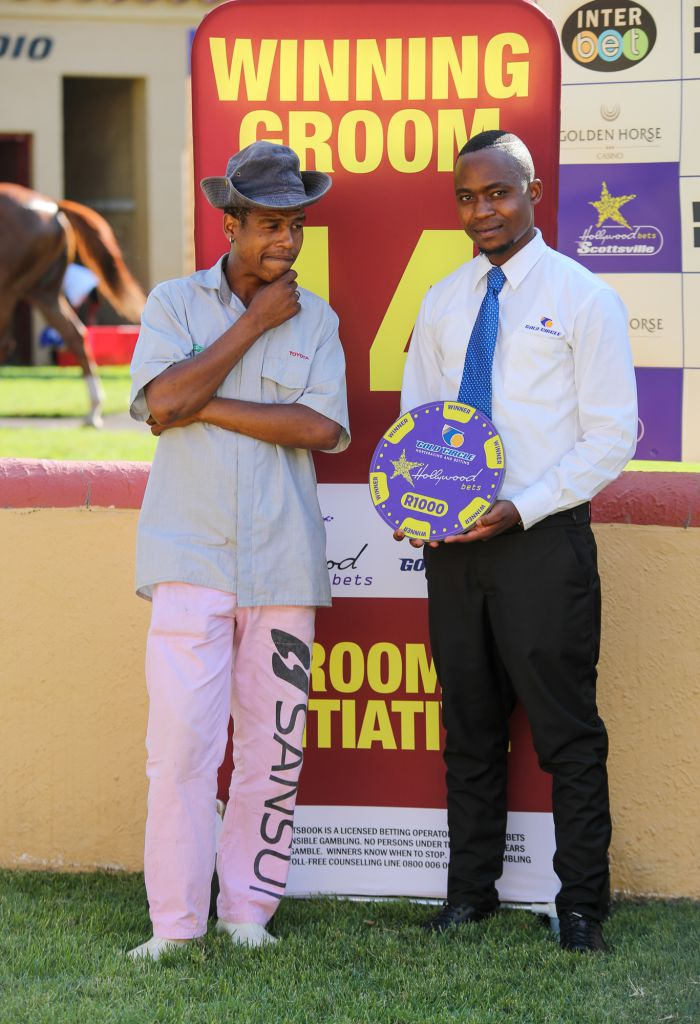 Grooms' Initiative Winners - 5th February 2020 - Hollywoodbets Scottsville - Race 7 - Nicholas Nhlkanipho - BLACK FOX