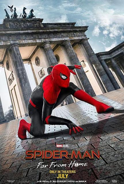 Poster de 'Spider-Man: Lejos de Casa' en Berlin
