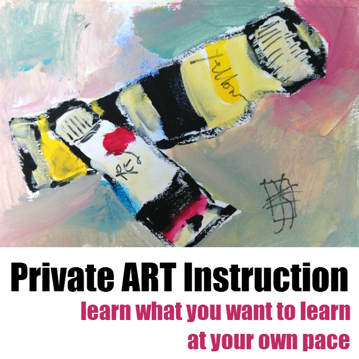 private art instruction, supplies provided, with joanie springer