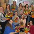 Our Pumpkin Arranging Class was a blast!