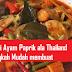 Mudahnya Resepi Ayam Masak Paprik Ala Thai Paling Sedap