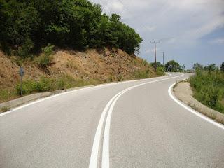 Αποπεράτωση των παρεμβάσεων βελτίωσης τμήματος του επαρχιακού οδικού δικτύου Φωτεινά- Σκοτεινά-Φτέρη από την Περιφερειακή Ενότητα Πιερίας
