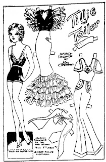 Mostly Paper Dolls Too!: Tillie the Toiler Paper Dolls