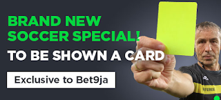 To Be Shown A Card New Betting Type bet9ja