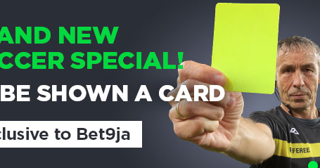 Bet9ja : To Be Shown A Card New Betting Type
